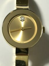 MOVADO Bold Yellow Gold Dial Ladies Watch Item No. 3600285