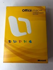 Microsoft Office 2008 Home and Student Edition for Mac + PRODUCT KEY