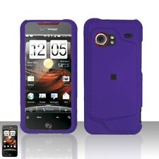 Hard Rubberized Case for HTC Droid Incredible - Purple
