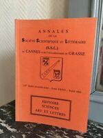 Anales de La Société Científica Y Literaria de Caña Grasa T. Xxxiv 1988