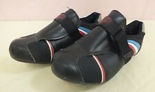 Vintage Performance Bicycles Black w/Red White & Blue Cycling Shoes Women's 6