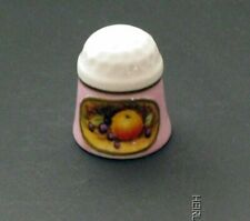 STILL LIFE THIMBLE on Pink Wash BY SUTHERLAND