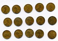 US Small Cents Mixed Lots