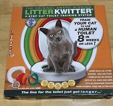 Litter Kwitter Cat Toilet Training System Lk-1 brand new with Dvd