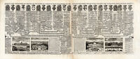 Antique Print-GENEALOGY-FRANCE-VALOIS-PARIS-Chatelain-1732