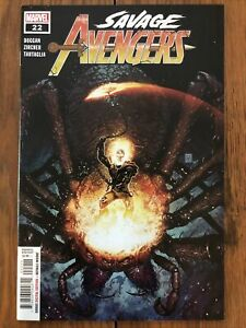 Savage Avengers #22 (Sept. 2021, Marvel) Conan partners with Ghost Rider