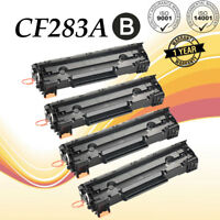 4x CF283A 83A Toner For HP LaserJet Pro M201dw M225dn M225dw MFP Ink Cartridge