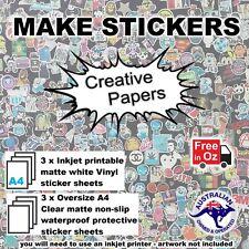 Graffiti your gear Make waterproof inkjet/marker stickers- KIT free post