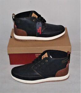 Levis Atwater Burnsh bt Navy/Tan High Top Sneaker Size 11