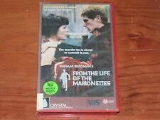 From The Life Of The Marionettes VHS 1980's Foreign Drama Crystal Screen PAL