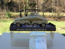 SOLIDO 1/50 RARE MILITAIRE,BUSSING 8X8 RADIO ALLEMAND serie limitée OVERLORD!