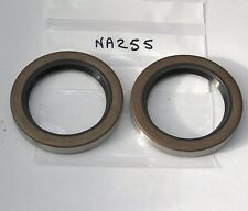 Pair of rear hub oil seals Morris 8 and MS (Payen NA255 C272) also Wolseley 6/80