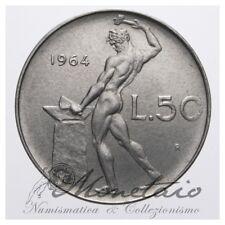 (Monetaio) Repubblica Italiana 50 Lire 1964 Vulcano SPL+