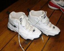 Vintage Reebok Court Shoes,White leather men's size 9, basketball,tennis