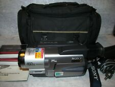 Sony CCD-TRV68 Handycam Vision Digital8 Hi8 Video Camera/Recorder TESTED AWESOME