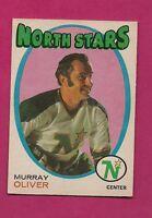 1971-72 OPC # 239 NORTH STARS MURRAY OLIVER NRMT CARD  (INV#1877)