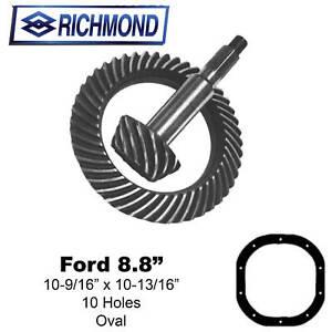 Richmond Gear 6903761 RingampPinion Set Ford 88 433
