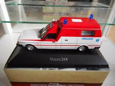 Atlas Volvo 264 Ambulance in White/Red on 1:43 in Box