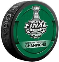 Dallas Stars 2020 Stanley Cup Western Conference Finals Champions Hockey Puck
