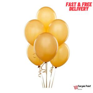 "10"" Latex Gold Balloons Celebration Ballons Party Decoration Baloons Birthday"