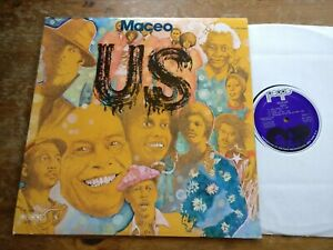 MACEO PARKER Us! JB'S James Brown Soul Funk Breaks LP 1st Press PEOPLE PROMO EX+