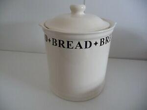 Ceramic Cream Bread Bin ( Large ) 32 cms H