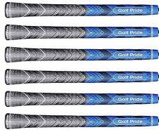 "6) MCC New Decade Plus4 MultiCompound BLUE MIDSIZE (+1/16"") Golf Pride Grip"
