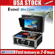 """Eyoyo 7"""" TFT LCD 50M Fish Finder Underwater Fishing Video Camera Monitor 1000TVL"""