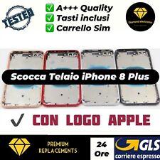 Scocca Telaio Vetro Posteriore Copertura Back Cover Housing Apple iPhone 8 plus