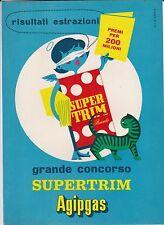 Cartella + Concorso - Grande Concorso  Supertrim  Agipgas -  Pubblicità - 1958