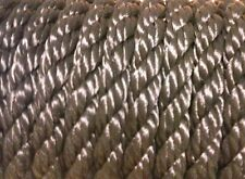 100 feet of 3/4 inch black polypropylene rope