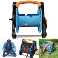 "Hose Reel Stand Water Pipe Storage Rack Cart Holder Bracket for 35m 1/2"" Hose"