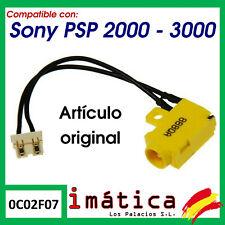 CONECTOR DE CORRIENTE PARA PSP 2000 3000 POWER JACK 2004 3004 SLIM CARGA FINA