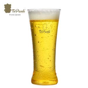 ToPanda Pilsner Craft Beer Plastic Glass (2 pcs ) Cocktail Cup Outdoor barware