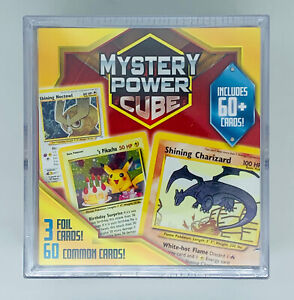 Pokémon Mystery Power Cube 2020 Trading Cards Pack of 60 Cards +3 Foil Cards