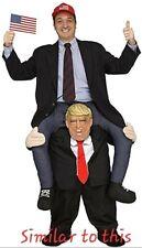 Donald Trump Presidential Piggyback Adult Costume