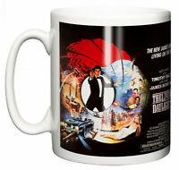 Dirty Fingers Mug, Timothy Dalton James Bond The Living Daylights, Film Poster