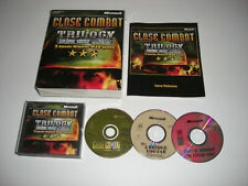 CLOSE COMBAT TRILOGY inc 1 2 & III Pc Cd Rom ORIGINAL BIG BOX - Fast  Post