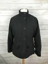 Women's Barbour Fulbourn Short Coat - UK14 - Black - Great Condition