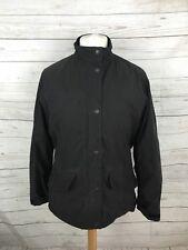 Barbour Femme FULBOURN manteau court-UK14-noir-très bon état