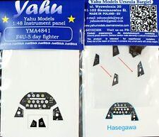 Yahu Models YMA4841 1/48 PE Vought F4U-5 Corsair instrument panel Hasegawa