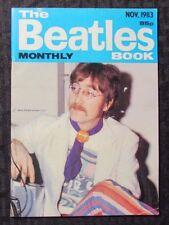 1983 THE BEATLES BOOK Monthly Magazine #91 VG+ John Lennon