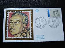 FRANCE - enveloppe 1er jour 23/2/1991 (jacques prevert) (cy21) french