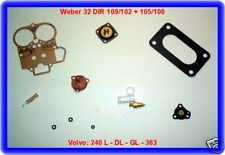Volvo 240,363, weber 32 te Carburateur Kit de réparation