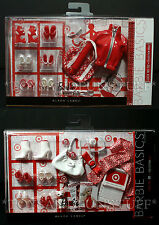NEW 2 Barbie Basics COLLECTION RED Look 01 & 02 - Doll Accessories Target SHOES