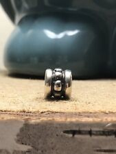 Authentic Pandora Sterling Silver Row Dash and Dots Charm Bead  790162 *RETIRED*