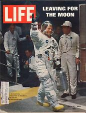 Life Magazine July 25 1969 Leaving for the moon Neil Armstrong w/ML 082416DBE