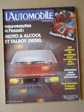 AUTOMOTIVE No 421, Talbot Tagora, Lada Niva, Mercedes 300GD,Toyota Land Cruise