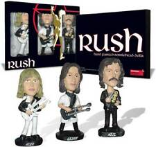 Rush Bobbleheads Alex Lifeson Geddy Lee Neil Peart Rock Metal Music Set 10310012