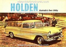 1961 FB EK HOLDEN UTE UTILITY GMH 400mm x 300mm STEEL GARAGE SIGN NOT - TIN